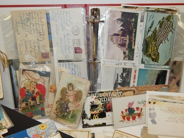 LARGE LOT OF POSTCARDS - 3