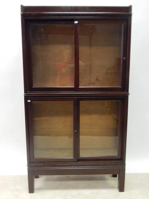 STACKING BOOKCASE SLIDING DOORS