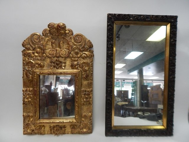 TWO COMPOSITION FRAME MIRRORS