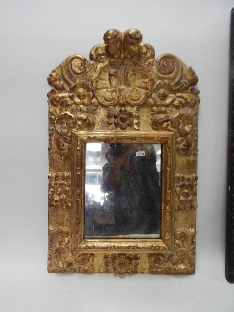 TWO COMPOSITION FRAME MIRRORS - 2