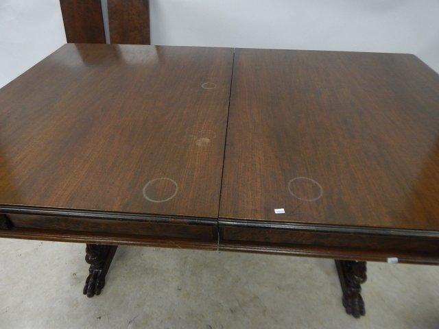 WALNUT DINING ROOM TABLE - 2