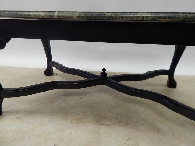 MARBLE TOP COFFEE TABLE - 3