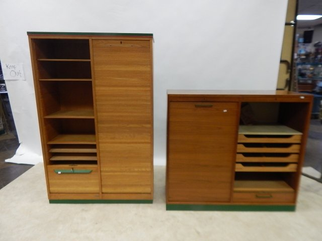 TWO ROLL FRONT CABINETS