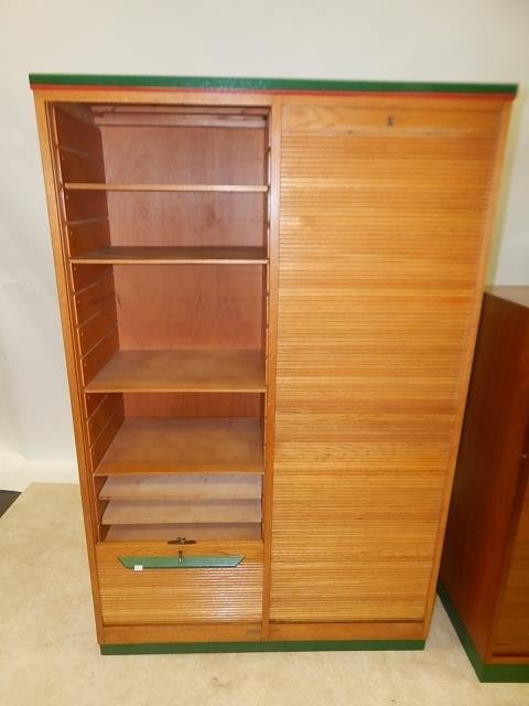 TWO ROLL FRONT CABINETS - 4