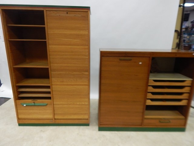 TWO ROLL FRONT CABINETS - 7