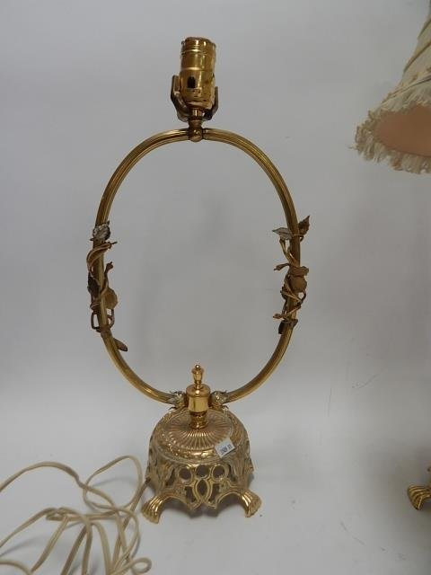 SET OF 3 FRENCH LAMPS - 2