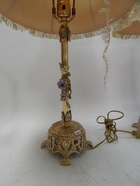 SET OF 3 FRENCH LAMPS - 3