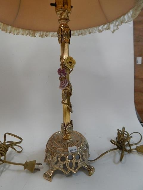 SET OF 3 FRENCH LAMPS - 4