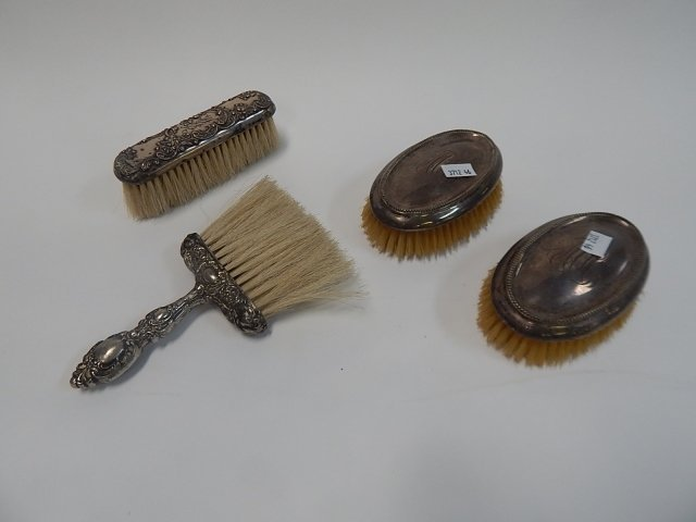 STERLING SILVER BRUSHES