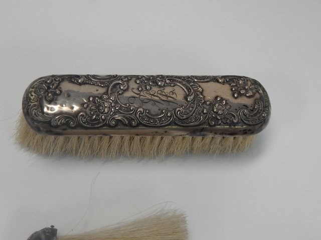 STERLING SILVER BRUSHES - 2