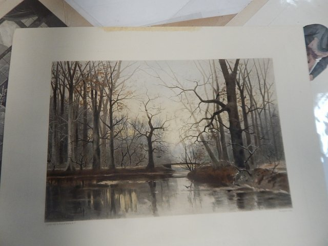 BIG LOT OF PRINTS, DRAWINGS, AND ETCHINGS - 2