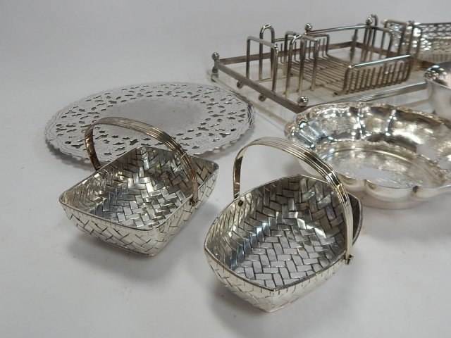 LARGE COLLECTION OF SILVER PLATE - 2