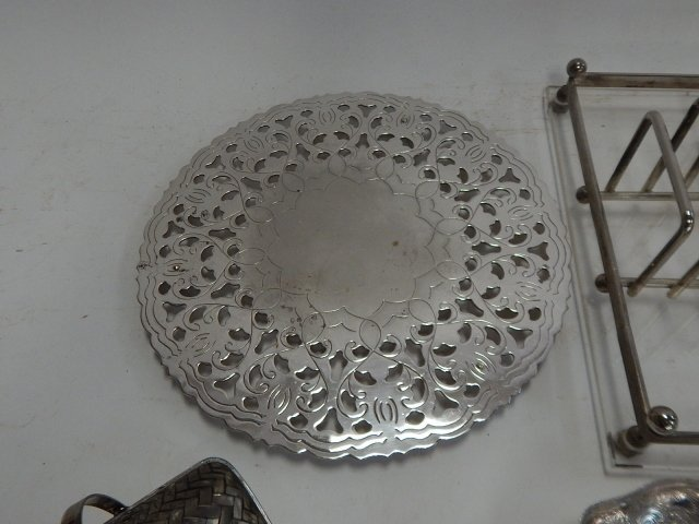 LARGE COLLECTION OF SILVER PLATE - 3