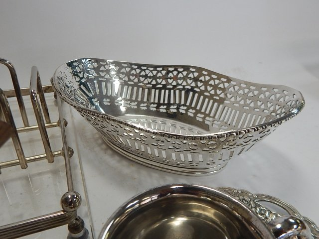 LARGE COLLECTION OF SILVER PLATE - 7