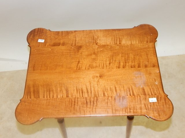 RIVERBEND WESTCHESTER OHIO TIGER MAPLE TABLE - 2