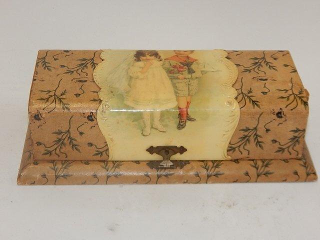 VICTORIAN CELLULOID DRESSER BOX - 2
