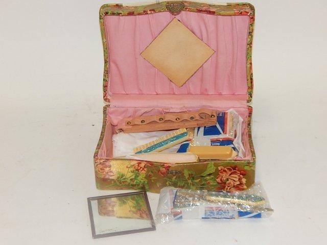 VICTORIAN CELLULOID DRESSER BOX - 4