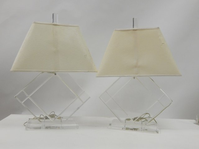 PAIR OF TABLE LAMPS - 2