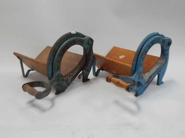 TWO BREAD CUTTERS
