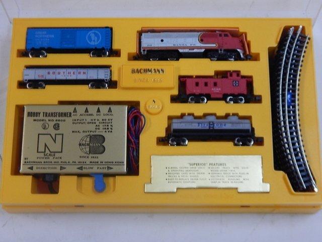 BACHMANN N SCALE ELECTRIC TRAIN - 3