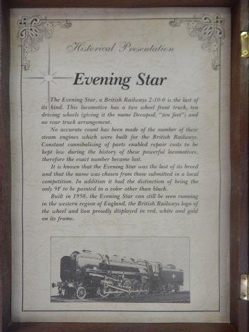 MINITRIX EVENING STAR LIMITED EDITION - 5