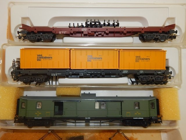 5 LILPUT HO SCALE TRAIN CARS - 3