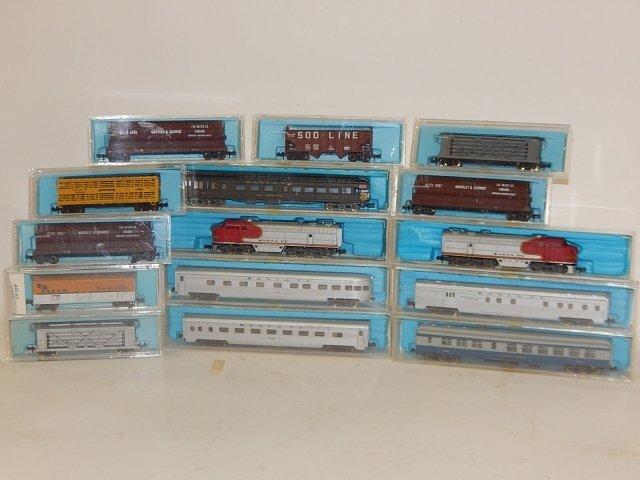 ATLAS TRAIN CARS