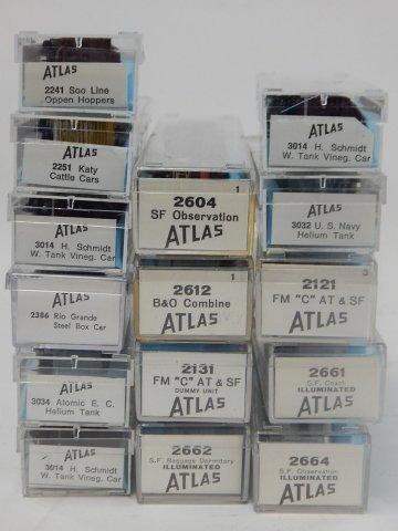 ATLAS TRAIN CARS - 4