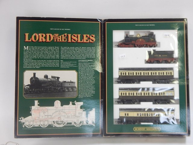 """HORNBY RAILWAYS OO SCALE """"LORD OF THE ISLES"""""""
