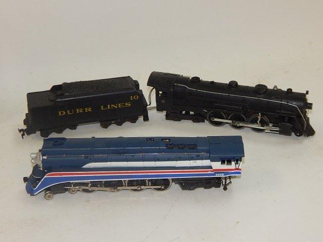 4 HO SCALE TRAIN CARS - 3
