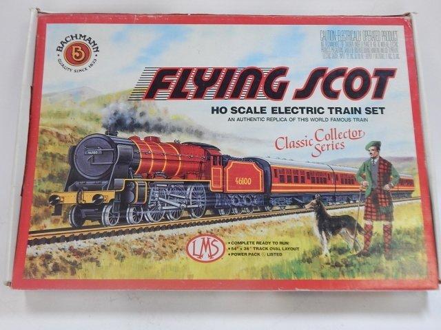 BACHMAN HO SCALE, FLYING SCOT ELECTRIC TRAIN