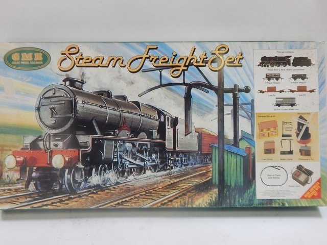 GMR HO/OO SCALE STEAM FREIGHT SET