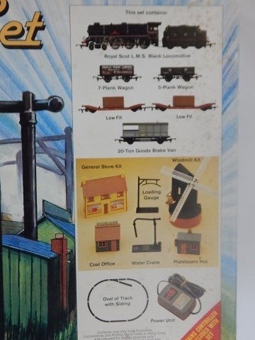 GMR HO/OO SCALE STEAM FREIGHT SET - 2