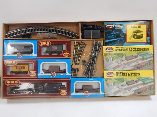 GMR HO/OO SCALE STEAM FREIGHT SET - 3