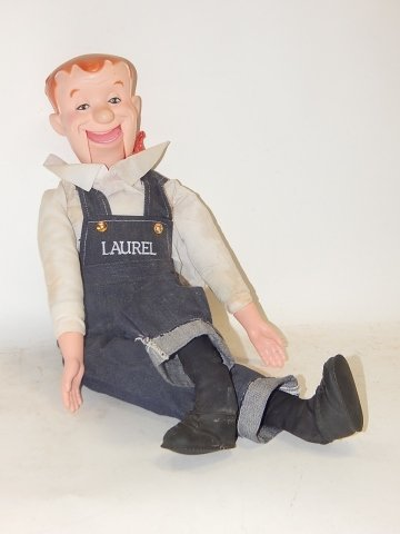 STAN LAUREL VENTRILOQUIST DOLL