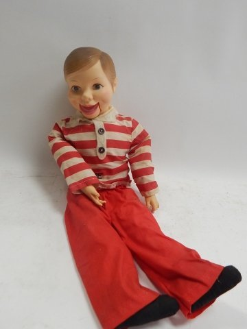 WILLIE TALK  VENTRILOQUIST DOLL