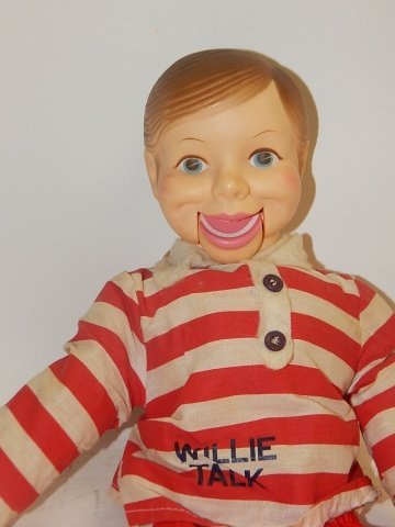 WILLIE TALK  VENTRILOQUIST DOLL - 3