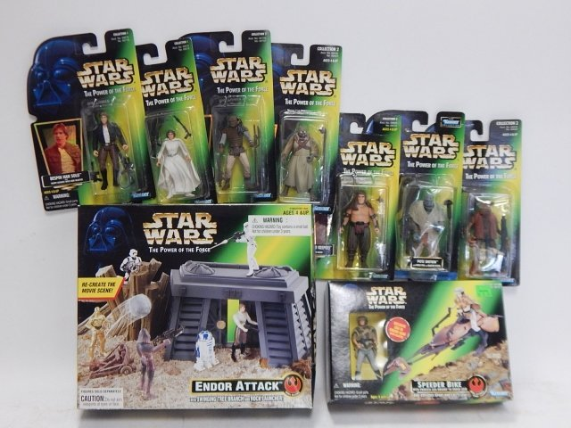 9 PIECE STAR WARS, THE POWER OF FORCE