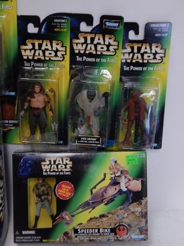 9 PIECE STAR WARS, THE POWER OF FORCE - 3