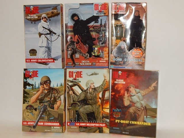 6 PIECE GI JOE COLLECTION