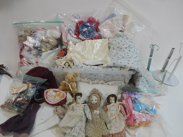 LARGE LOT OF DOLL ACCESSORIES