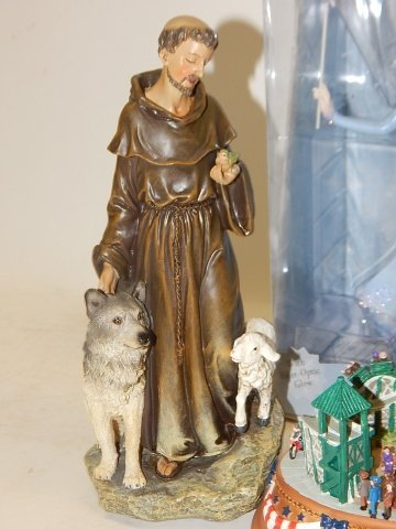 LOT OF HOLIDAY DECORATIONS AND FIGURES - 8