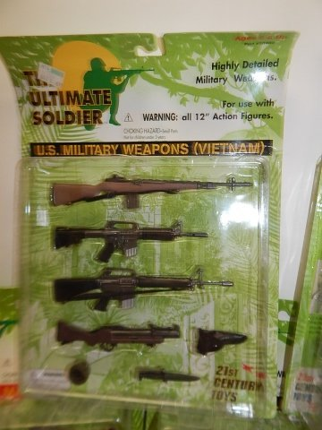 5 SETS OF THE ULTIMATE SOLDIER ACCESSORIES - 2
