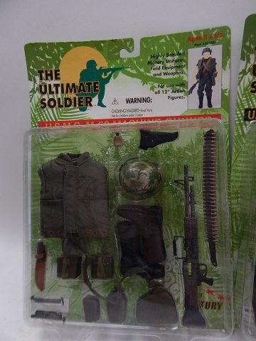 5 SETS OF THE ULTIMATE SOLDIER ACCESSORIES - 3