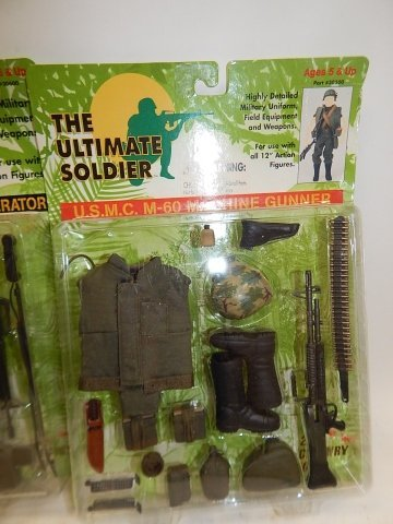 5 SETS OF THE ULTIMATE SOLDIER ACCESSORIES - 4