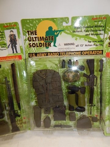 5 SETS OF THE ULTIMATE SOLDIER ACCESSORIES - 5