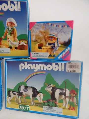 11 PLAYMOBIL SETS - 4
