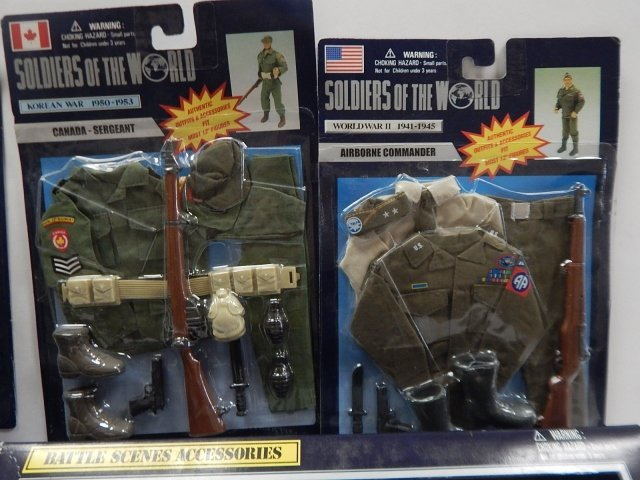 5 PIECES SOLDIERS OF THE WORLD GEAR - 2