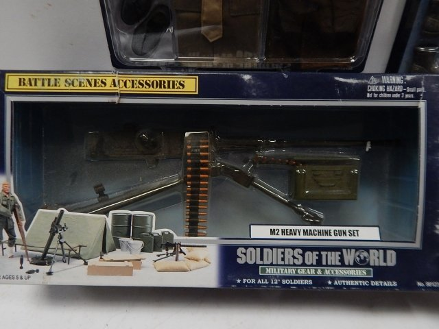 5 PIECES SOLDIERS OF THE WORLD GEAR - 4