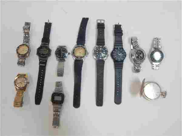 LOT OF WATCHES
